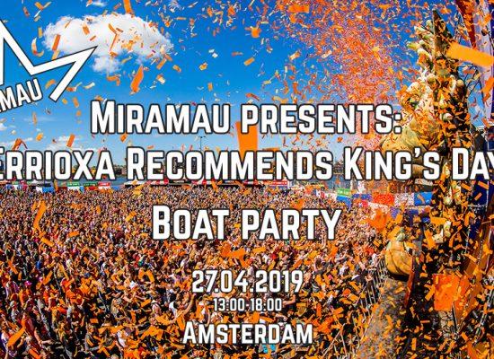 flyer miramau kings day boat party